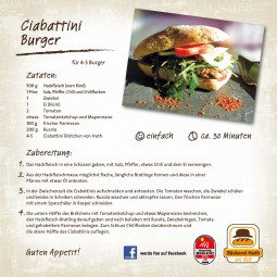 Unser Huth Rezept für Sie: Ciabattini Burger